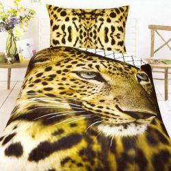 3D povlečení - Zlatý jaguár