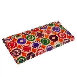 Kožená peněženka - barevná kolečka