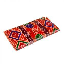 Kožená peněženka - barevný vzor