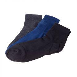 Ponožky vyšší lem - trio barevné - vel. 40-43