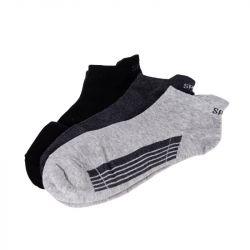 Ponožky kotníkové - trio 1 - vel. 43-46