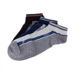 Ponožky kotníkové - trio 2 - vel. 43-46