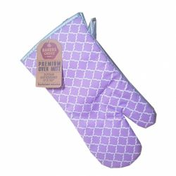 Chňapka - fialový vzor