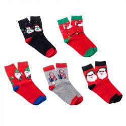 Ponožky Vánoce mix - vel. 39-42