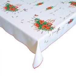 Vánoční ubrus - obdelník - červená 120x140 cm