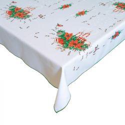 Vánoční ubrus - obdelník - zelená 120x140 cm