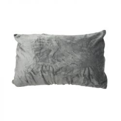 Mikroflanelový povlak na polštář 50x80 cm - šedý