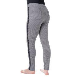 Kalhoty - Pepito vzor - černá a bílá