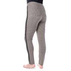 Kalhoty - Pepito vzor - černá, bílá, béžová