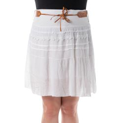 Sukně  - bílá