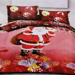 7dílné povlečení - Vánoce - Santa když sněží