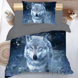 3D povlečení - Vlk
