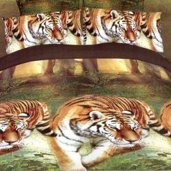 3D povlečení APEX 3dílné - tygr