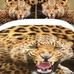 3D povlečení APEX 3dílné - jaguár